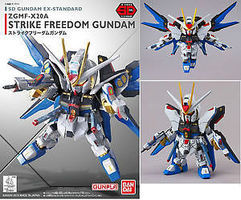 Bandai EX-Standard Strike Freedom Gundam Seed Destiny Snap Together Plastic Model Figure #204934