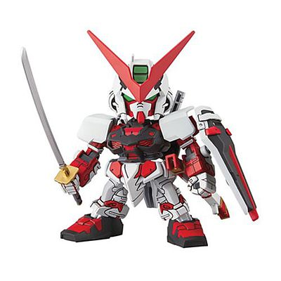 Bandai Models 007 GUNDAM ASTRAY RED FRAME -- Snap Together Plastic Model Figure -- #204935