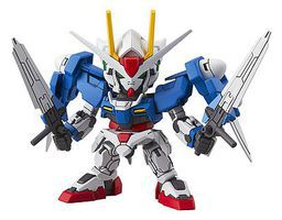 Bandai SD EX-Standard 00 Gundam Gundam 00 Snap Together Plastic Model Figure #204936
