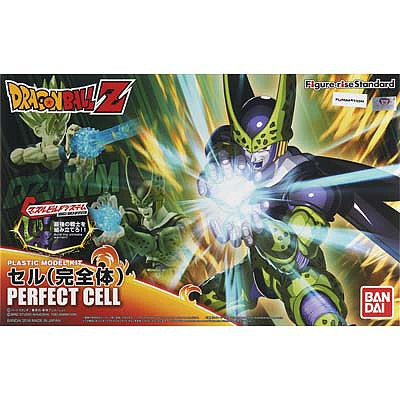 Bandai Perfect Cell Dragon Ball Z Figure-Rise Standard Snap Together Plastic Model Figure #207586