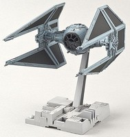 Bandai Tie Interceptor Star Wars Snap Tite Plastic Model Figure 1/72 Scale #208099