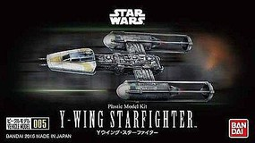 Bandai Star Wars- Y-Wing Starfighter (Snap) 1/144 Scale Science Fiction Plastic Model #209054