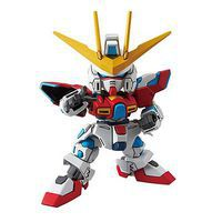 Bandai 011 Try Burning Gundam SD EX-Standard Snap Together Plastic Model Figure #209066