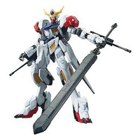 Bandai IBO Full Mechanics Barbatos Lupus Snap Together Plastic Model Figure 1/100 Scale #211951
