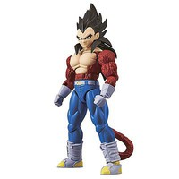 Bandai Super Saiyan 4 Son Vegeta Drgn Ball GT Fig-Ris Snap Together Plastic Model Figure #214498