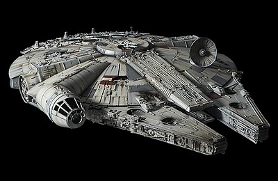 Bandai 1/72 Perfect Grade Series- Star Wars A New Hope Millennium Falcon (Studio Model Version)
