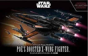 Bandai PoeS Boosted X-Wing 1-72