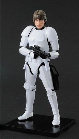 Bandai Luke Skywalker Stormtrooper-12