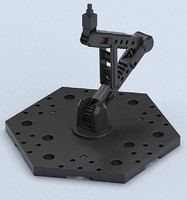 Bandai 1/144 Black Display Stand Action Base