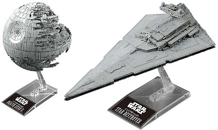 Bandai Death Star Ii & Star Destroyer
