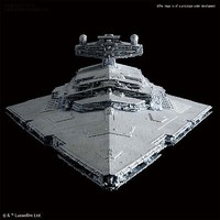 Bandai 1/5000 Star Wars A New Hope- Star Destroyer w/in-scale Millennium Falcon & Blockade Runner