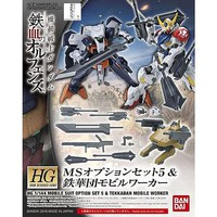 Bandai Ms Option Set 5&Tekkadan Mobil