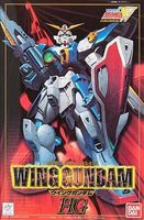 Bandai Wing Series Wing Gundam #1 Snap Together Plastic Model Figure 1/100 Scale #047165