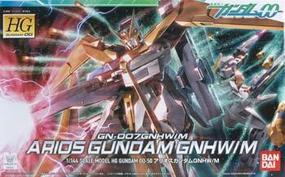Bandai #50 Arios Gundam GNHW/R HG Snap Together Plastic Model Figure 1/144 Scale #159937