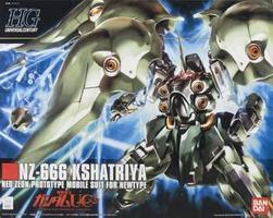 Bandai #99 NZ-666 Kshatriya Snap Together Plastic Model Figure 1/144 Scale #160542
