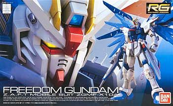 Bandai Models RG #5 Freedom Gundam -- Snap Together Plastic Model Figure -- 1/144 Scale -- #171625