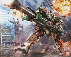Bandai MG Buster Gundam Snap Together Plastic Model Figure 1/100 Scale #177908