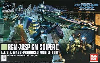 Bandai HGUC #146 GM Sniper II Snap Together Plastic Model Figure 1/144 Scale #177916
