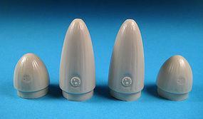 Barracuda P51D Drop Tank Noses & Tailcones for Tamiya Plastic Model Airplane Accessory 1/32 #32016