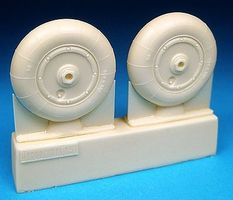 Barracuda Bf109G10 & K4 Main Wheels Plastic Model Airplane Wheel 1/32 Scale #32074