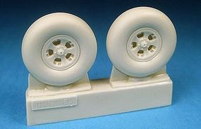 Barracuda Spitfire Mk II Main Wheels for RVL, HSG & TSM Plastic Model Aircraft Accessory 1/32 #32176