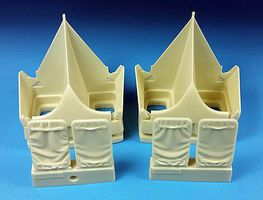 Barracuda B1B Lancer Engine Intake Set for RVL (Resin) Plastic Model Aircraft Accessory 1/48 #48235