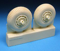 Barracuda Avro Shackleton MR 2 AEW 2 Wheel Set (Resin) Plastic Model Aircraft Accessory 1/72 #72274