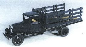 Berkshire 1934 Ford Long Bed Stake Truck - Kit - Undecorated O Scale Model Railroad Vehicle #202