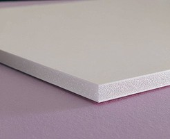 (bulk of 12) 16'' x 20'' White Foam Board 3/16'' Thick  (D)