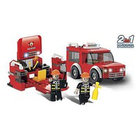 Brictek Fire First Response 2 in 1 147pcs Building Block Set #11330
