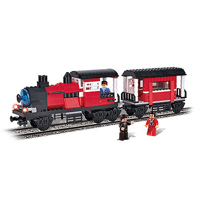 BRICTEK BUILDING BLOCKS Locomotive with Wagon 5 In 1 335pcs -- Building Block Set -- #11702