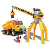 Brictek Crane with Truck 238pcs Building Block Set #14004