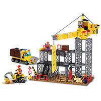 Brictek Construction Site 395pcs Building Block Set #14005