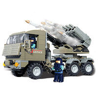 Brictek Rocket Launcher Justice 226pcs Building Block Set #15017