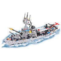 Brictek Helicopter Carrier 778pcs Building Block Set #15405