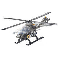 Brictek Attack Helicopter 3 In 1 114pcs Building Block Set #15706