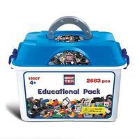 Brictek Educational Pack 2683pcs Building Block Set #19007
