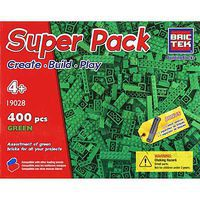 Brictek Green Super Pack 440pcs Building Block Set #19028