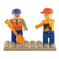 Brictek Mini Figurines Farm (2) Building Block Set #19207