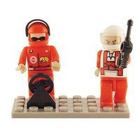 Brictek Mini Figurines Racing (2) Building Block Set #19208