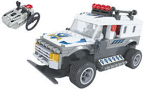 Brictek R/C Police Truck 268pcs Building Block Set #20203