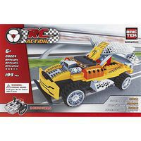 Brictek R/C Yellow Racing Car 108pcs