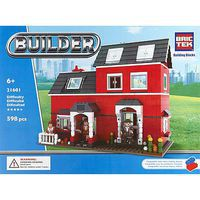 Brictek Red House 598pcs Building Block Set #21601