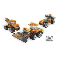 Brictek Construction Mini Loader 3in1 57pcs Building Block Set #24029