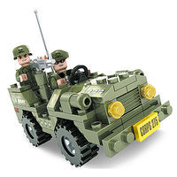 Brictek Army Jeep Corps 275 108pcs Building Block Set #25002