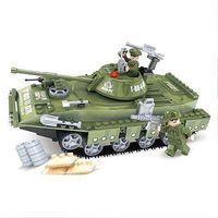 Brictek Army T-80-U Tank 213pcs Building Block Set #25007