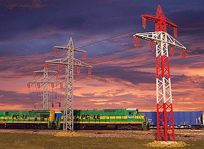 Big City Hobbies High Tension Tower    3/ - HO-Scale (3)