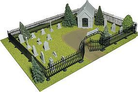 Big-City Complete Cemetery Kit - O-Scale