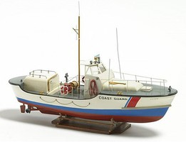 Billing-Boats 1/40 US Coast Guard Lifeboat w/Vacu-Form Hull (Beginner)