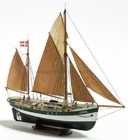 Billing-Boats 1/60 Dana Double-Masted North Zealand Fishing Boat w/Vacu-Form Hull (Beginner)